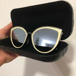 Chanel cat eye summer sunglasses